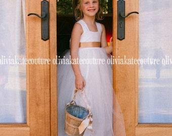 Junior Bridesmaid or Flower Girl Floor Length