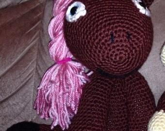 My crochet pony