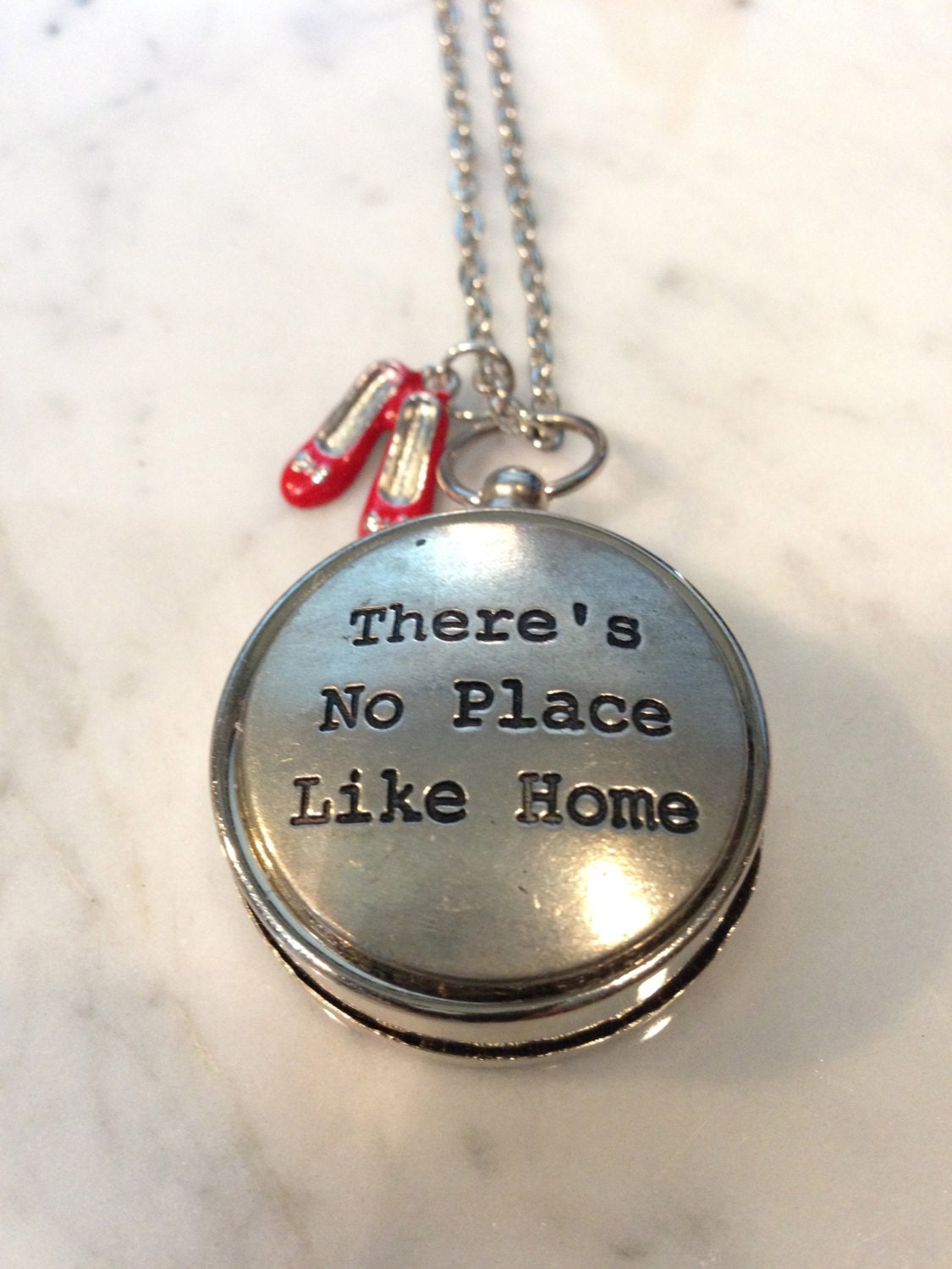 wizard of oz jewelry there 39 s no place like home compass