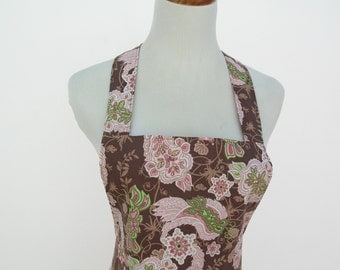 Ladies Apron With Flirty Ruffle Skirt