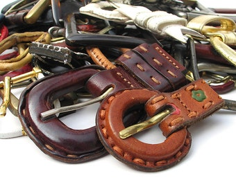 Reclaimed Belt Buckles, Big Lot, 3lbs, Recycled, Eco-Friendly Buckles For Belts or Craft Supplies