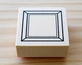 Rubber stamp - Frame of the square - Btype
