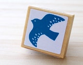 Nordic stamp - Lovely bird - Small size