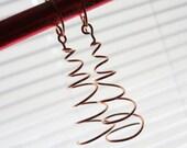 TUTORIAL Twirl Earrings Jewelry Making TUTORIAL