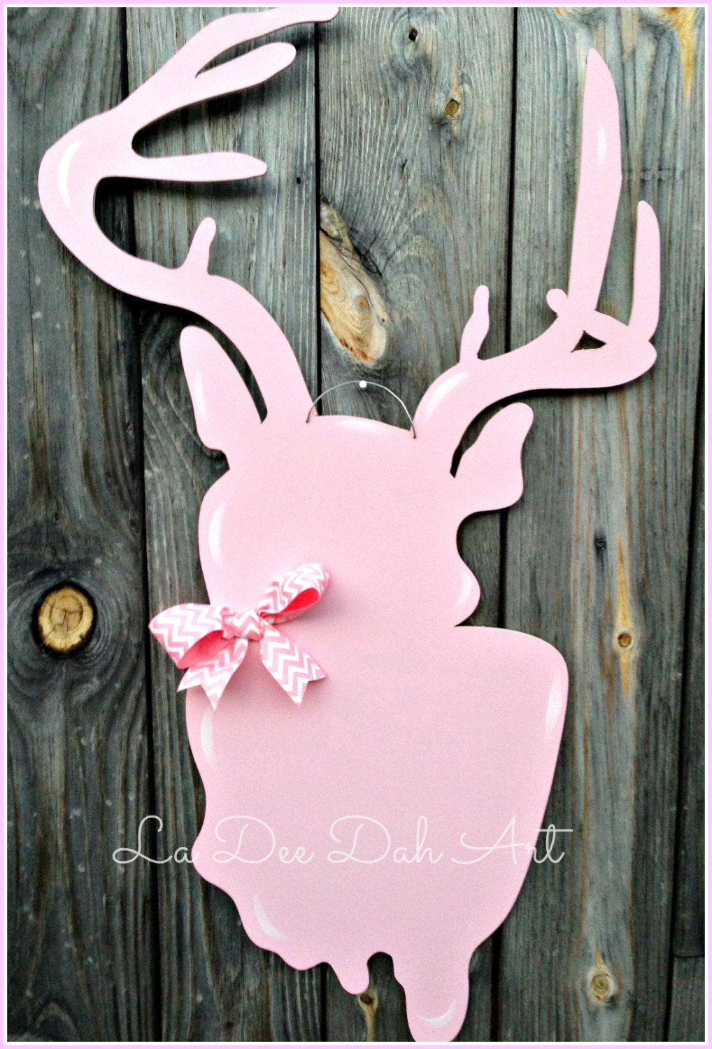 Door Hanger Door Art Girl Room Decor Hunting Deer