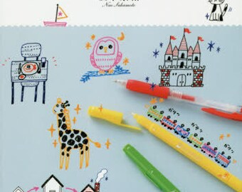 Adult Cute Illustrations Book - Japanese Craft Book