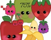 Fruities with Faces