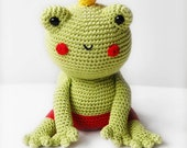 Amigurumi Patern - Fred the Frog