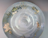 Large Fishy Platter Clowns, Angel and Picasso Fish, oh my, Porcelain