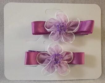 Girls - Decorative Aliigator clip set