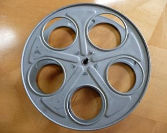 "10"" Hollywood 35mm Film Reel Movie theater prop cine theater movie night"