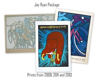 Screens 'N' Spokes - Jay Ryan 3 Print Package