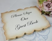 Wedding Guest Book Sign - Wedding Card Sign - Guest Book Sign - Wedding Sign
