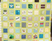 Reserved for Mel Custom Order Baby Quilt Using Your Baby Clothes