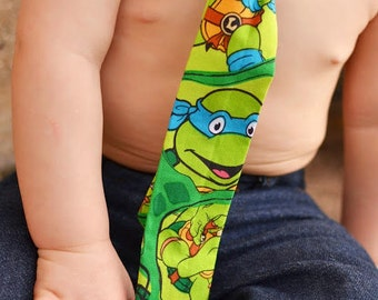 Teenage Mutant Ninja Turtle Necktie Little Boys, Cartoon Superhero