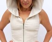 Pacha Play Womens Vega Vest- hooded