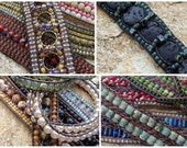Leather Bracelet Tutorial Collection - 4 Tutorials! INSTANT Download!