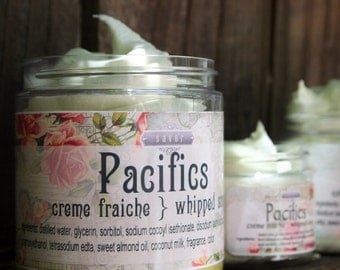 Soap Handmade Pacifics 8 oz Creme Fraiche Whipped Soap