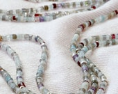 REALLY. 3 necklaces in one. 3 strand gemstone necklace
