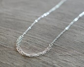 tabula rasa - sterling silver layered necklace