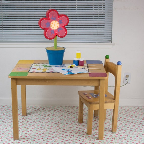 Splat Mat Tablecloth Petite Tea Cup Rose