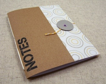 Pocket Mini Notebook // Modern Circles