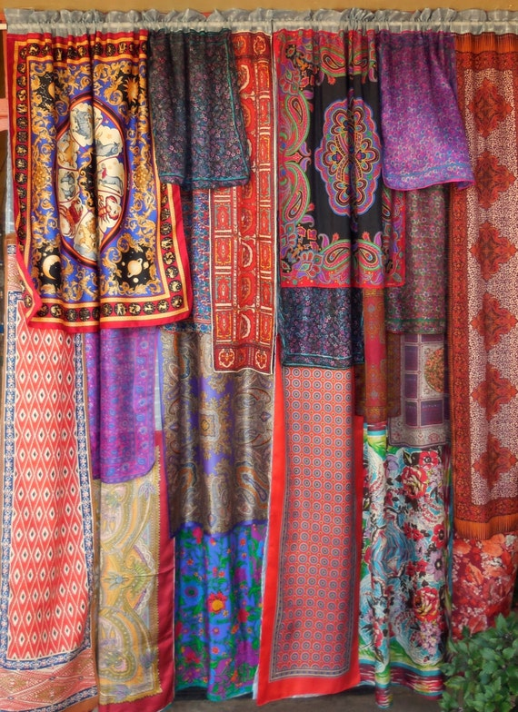 BY The TIME We Got To WOODSTOCK Bohemian Gypsy Curtains