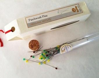 Tulip Patchwork Pins THN-075e from Hiroshima Needles Japan
