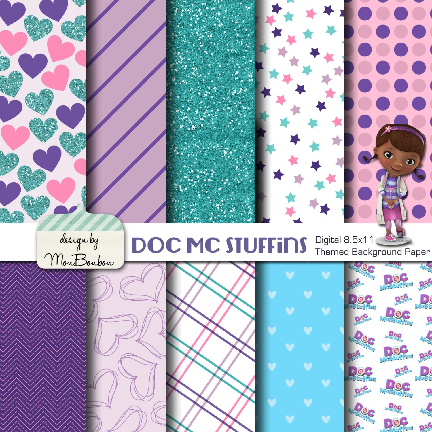 ... Background Disney jr. doc mcstuffins Doc Mcstuffins Band Aid Clip Art