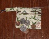 Dinosaurs coin purse with swivel hook