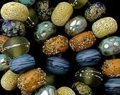 DSG Beads Handmade Organic Lampwork Glass - Made To Order (Bahama Mama)