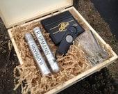 RESERVED for orsidaluzati - 12 Cigar Box, 6 groomsmen, 6 bridesmaid to CANADA