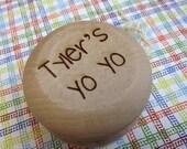 Personalized Yo-Yo, Ring Bearer Present or Gift, Birthday Present, Game, Yo-Yo, Wooden