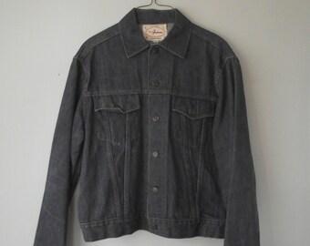 Dark Denim Jacket Matt Andrews Sportswear Medium Large