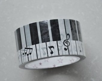 Kawaii Music Notes Deco Tape