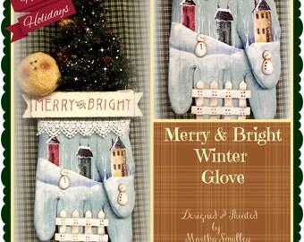 Apple Tree Cottage Original Design E Pattern  - Merry & Bright Winter Glove