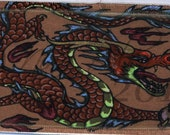 Iron on Patch Patches Dragon Patch Original Fantasy Artwork by Nina Bolen Custom Iron on Fabric Patch