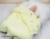 KNITTING PATTERN For Baby Owl Cable Blanket PDF 246 Digital Download