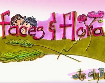 DVD WORKSHOP -Doodling 101 Faces and Flora