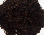 Reserved for BibsLovelyPam: Cotswold Sheep Wool Locks, Karakul Wool Locks for doll hair 6 oz.