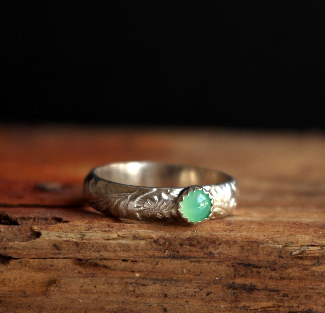 Chrysoprase Silver Ring Gemstone Ring May Birthstone Ring. Gold Diamond Band. Initial Pendant Necklace. Rose Gold Cuff Bangle. 42 Carat Diamond. Green Stone Rings. Colored Rings. Yellow Sapphire Earrings. Band With Diamonds