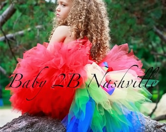 Baby Parrot Costume Tutu for Girls Baby to 2T