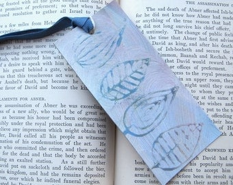 Paste Paper  Bookmark, Art Tag or Gift Tag PSS 1950