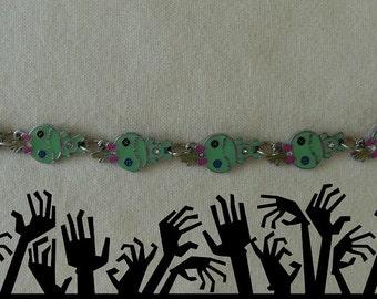 Zombie  Bracelet - OOAK