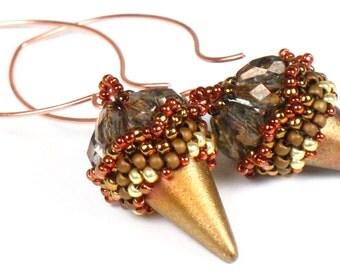 KIT --  Spike Earrings