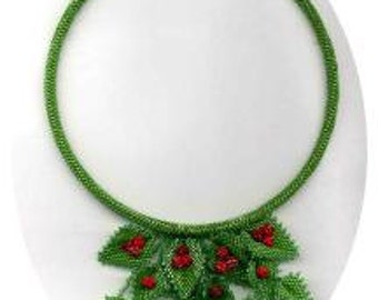 Holly Berry Necklace Pattern
