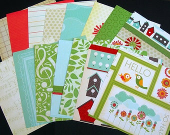 Songbird Collection By DCWV 6x6 Paper Pack Sampler