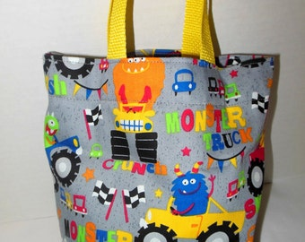 Monsters and Trucks Tote/Gift Bag