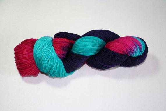 Welcome to the Eighties Hand Dyed Sock Yarn