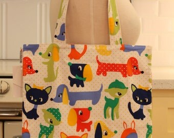 Book Bag Tote Purse - Dream Pets